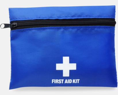 Blå / Svart Väska Firsta Aid med reklamtryck