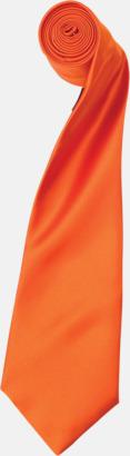 Terracotta Slipsar i supermånga färger