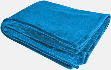 Royal Blue Stora filtar med reklambrodyr