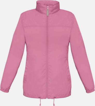 Pixel Pink (dam) Vind- och vattentäta jackor för dam, herr och barn - med tryck