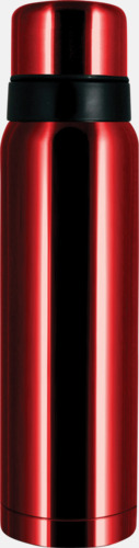 Rubinröd 1 liter termos från Vildmark