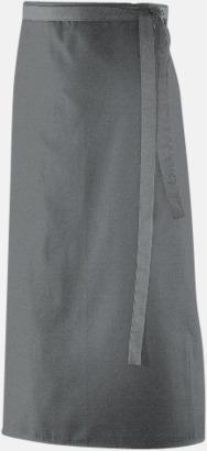 Silvergrå (90 x 60 cm) Förkläden i 5 varianter med reklamtryck