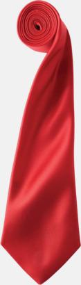 Röd Slipsar i supermånga färger