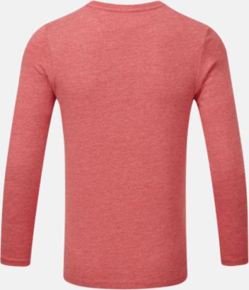 Färgstarka långärms t-shirts i herr-, dam och barnmodell