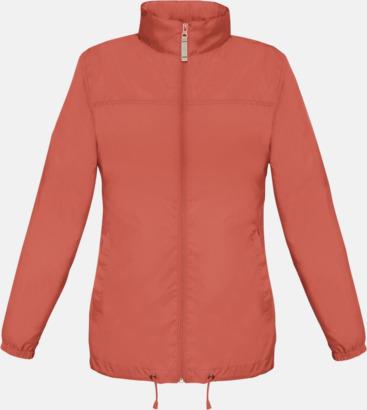 Pixel Coral (dam) Vind- och vattentäta jackor för dam, herr och barn - med tryck