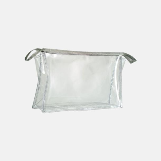 Transparent Transparent resenecessärer med reklamtryck