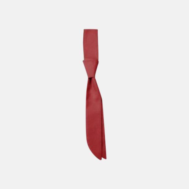 Regency Red (kravatt) Ready-to-wear slipsar och kravatter med eget tryck