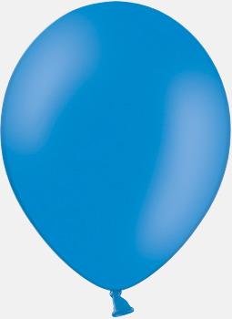 012 Mid blue pms 2925 Reklamballonger med fototryck