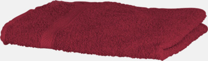 Deep Red Exklusiva handdukar med egen brodyr
