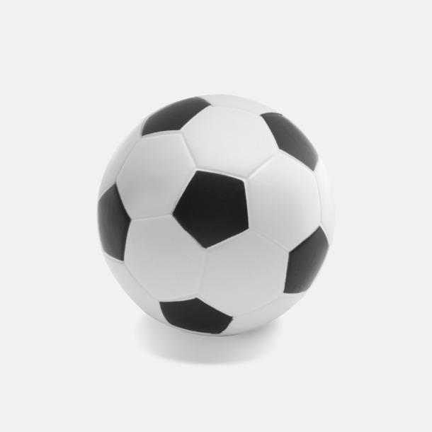 Vit / Svart Stressboll Fotboll