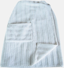 Handdukar speciellt för bastubadande - med brodyr