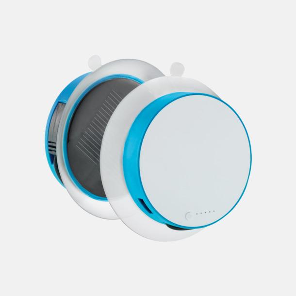 Blå Solcellsladdare med inbyggd USB-portal att fästa på fönstret