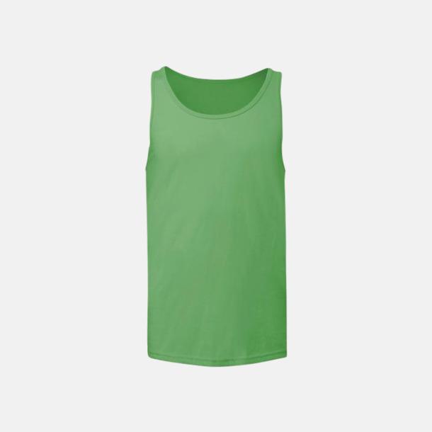 Neon Green Bomullslinnen i unisexmodell med reklamtryck