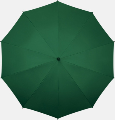 Mörkgrön Stora golfparaplyer med eget tryck