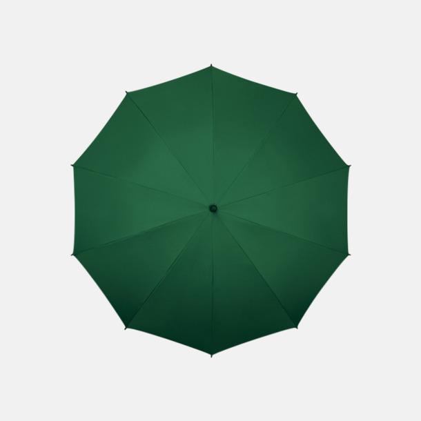 Grön (PMS 567C)  Stora golfparaplyer med eget reklamtryck