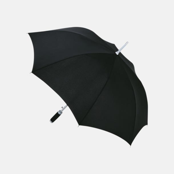 Svart Paraplyer med reklamtryck