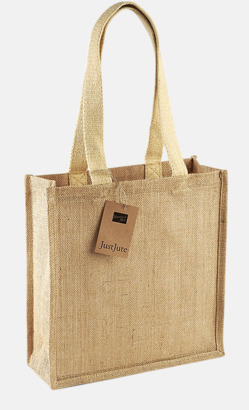 Kompakt shoppingbag i jute