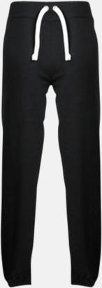 Bekväma byxor i dammodell med reklamtryck