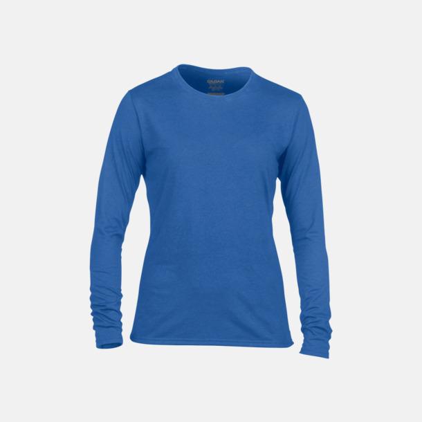 Royal (dam) Långärmade funktionströjor för vuxna och barn med reklamtryck