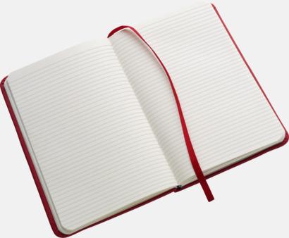 Färgrika A6-anteckningsböcker med tryck