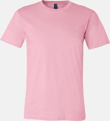 Soft Pink T-shirts för herr och dam - med reklamtryck