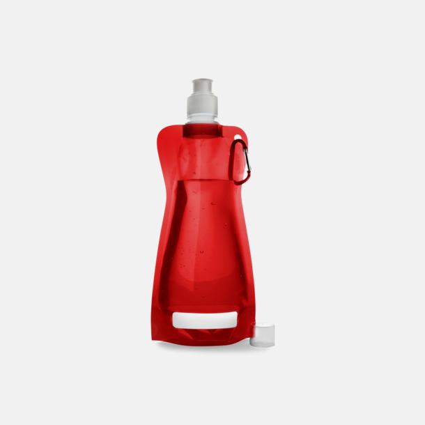 Röd Reklamvattenflaska med egen logga