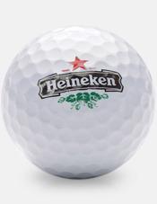 Golfbollar med reklamtryck