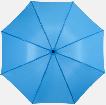 """Blå 30""""-stormparaplyer med reklamtryck"""