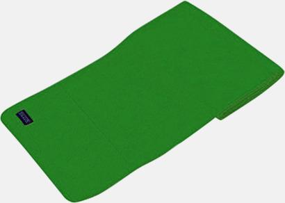 Dark Green Högkvalitativa fleecehalsdukar med egen brodyr