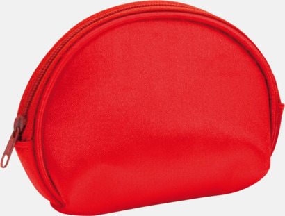 Röd Billiga sminkväskor med tryck