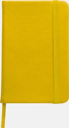 Gul Färgrika A6-anteckningsböcker med tryck