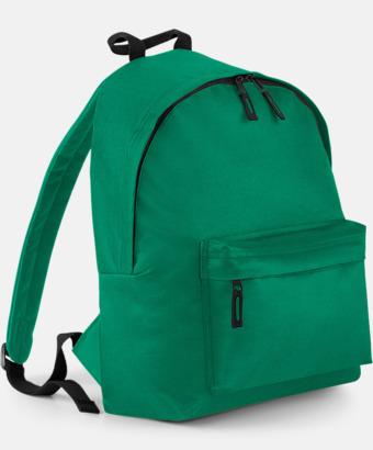 Kelly Green Klassisk ryggsäck i 2 storlekar med eget tryck