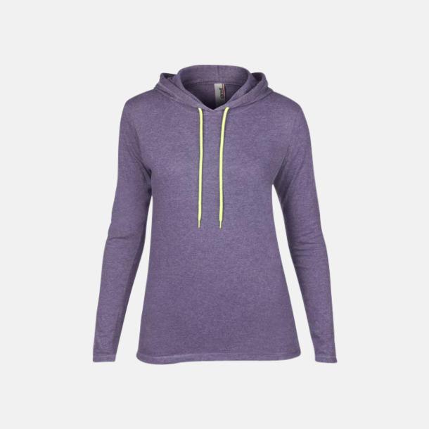 Heather Purple (dam) Billiga herr- och damtröjor med reklamtryck