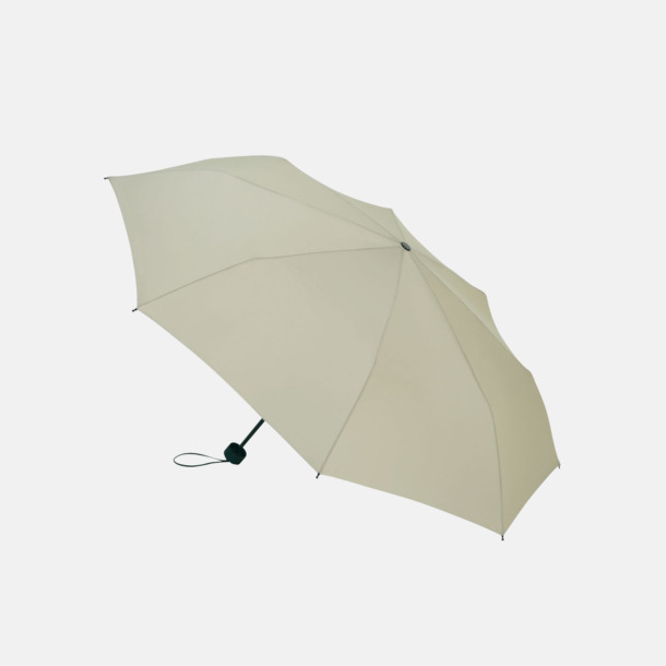 Stone Grey Kompakta paraplyer med eget reklamtryck