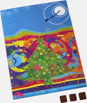 Goda chokladkalendrar med eget tryck
