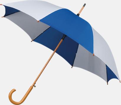 Golfparaply med rundad träkrycka