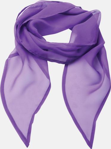 Rich Violet Tunna accessoarscarfs i många färger