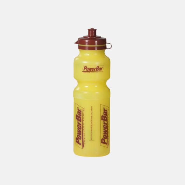 Gul Vattenflaskor i 4 storlekar med reklamtryck