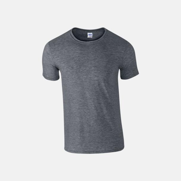 Dark Heather Billiga t-shirts med tryck
