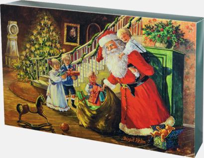 Presentkartong jul (se tillval) Lyxig fleecepläd