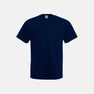 Kraftig t-shirt med reklamtryck