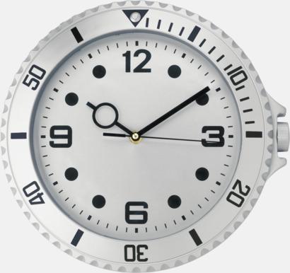 Silver Väggklockor i armbandsursdesign med reklamtryck