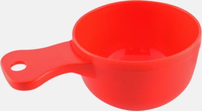 Röd Traditionella drickkåsor med tryck