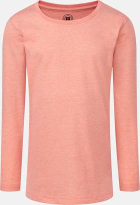 Coral Marl (flicka) Färgstarka långärms t-shirts i herr-, dam och barnmodell
