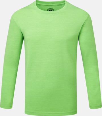 Green Marl (pojke) Färgstarka långärms t-shirts i herr-, dam och barnmodell