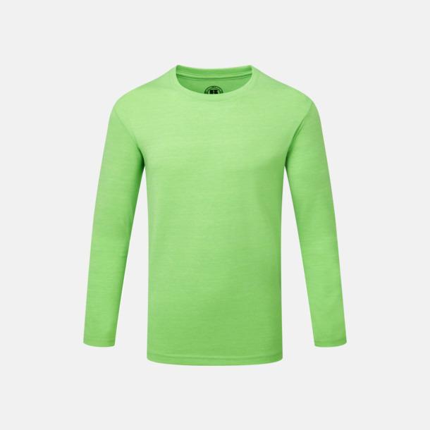 Green Marl (barn) Färgstarka långärms t-shirts i herr-, dam och barnmodell