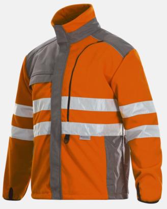 Orange  Funktionsfleece Klass 3