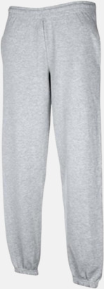 Heather Grey Joggingbyxor med reklamtryck
