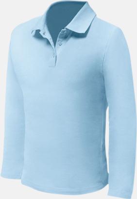 Sky (endast herr) Långärmade pikétröjor till lägre priser med reklamtryck
