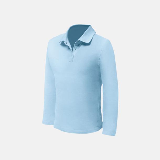 Sky (herr) Långärmade pikétröjor till lägre priser med reklamtryck